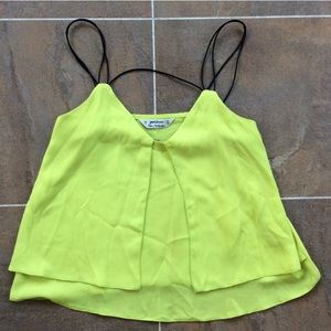 Lime Cami Top